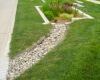 Forever Green Coralville Iowa Landscaping rain garden natural rainscapes stones