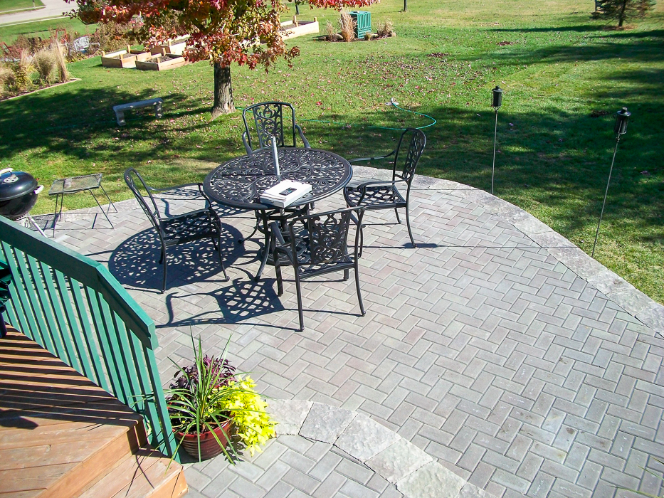 Forever Green Coralville Iowa Patios outdoor living brick
