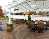 Forever Green Coralville Iowa Patios outdoor living kitchen