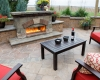 Forever Green Coralville Iowa Pergola Outdoor Cooking patio fireplace outdoor living
