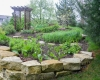 Forever Green Coralville Iowa Retaining Walls natural walls pathway limestone
