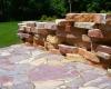 Forever Green Coralville Iowa Retaining Walls patio limestone walls