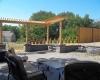 Forever Green Coralville Iowa Retaining Walls patio pergola seat wall