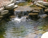 Forever Green Coralville Iowa Water Features Iowa City waterfall natural pond landscaping