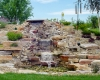 Forever Green Coralville Iowa Water Features landscaping pondless waterfall