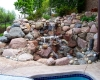 Forever Green Coralville Iowa Water Features landscaping Iowa City waterfall natural