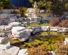 Forever Green Coralville Iowa Water Features pond natural limestone