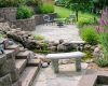 Forever Green Coralville Iowa Water Features waterfall patio