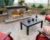 Forever Green Grows Coralville Iowa Fire Pits patio fireplace