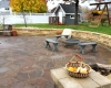 Forever Green Grows Coralville Iowa Fire Pits patio hardscapes