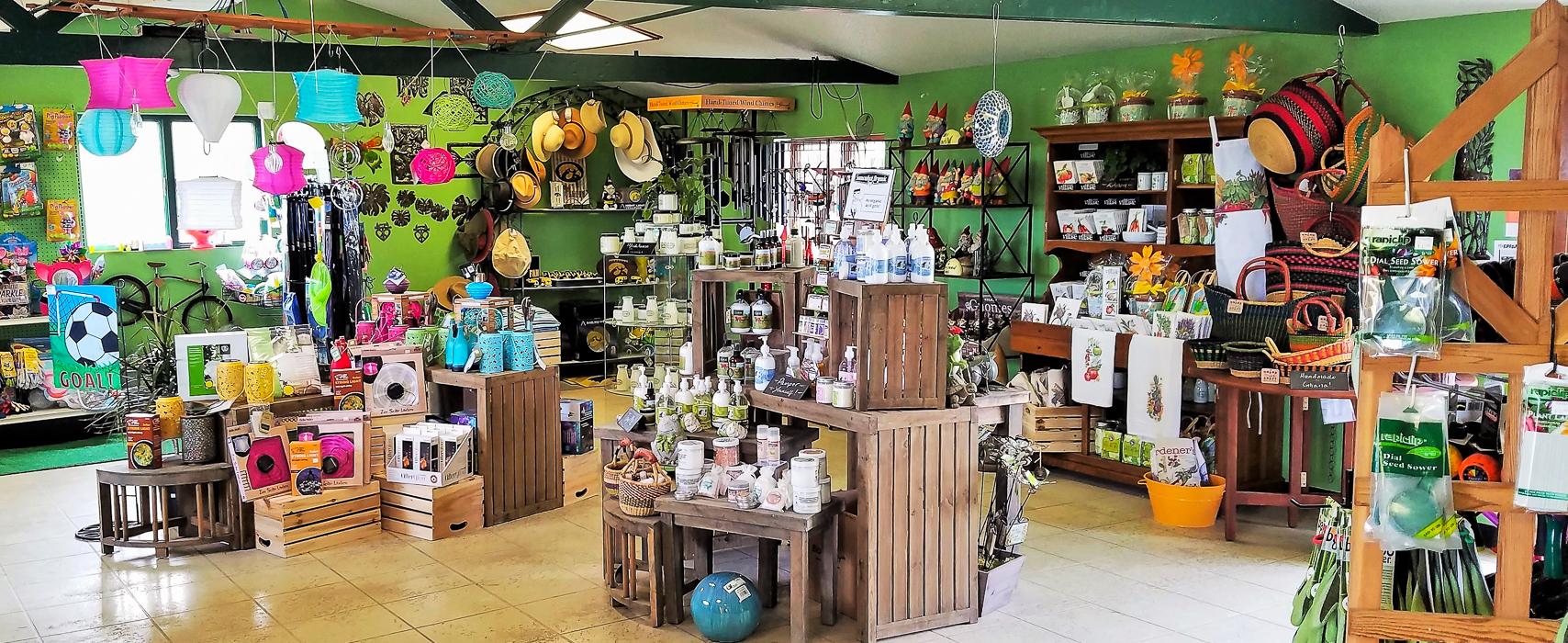 Forever Green Grows Coralville Iowa Garden Center store interior