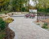 Forever Green Coralville Iowa Fire Pits walkway backyard