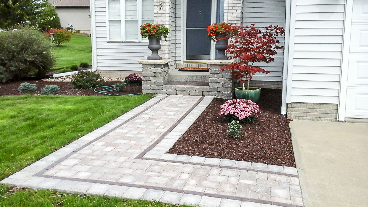 Forever Green Coralville Iowa Landscaping patio walkway