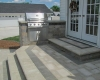 Forever Green Coralville Iowa Patios grill steps landscaping