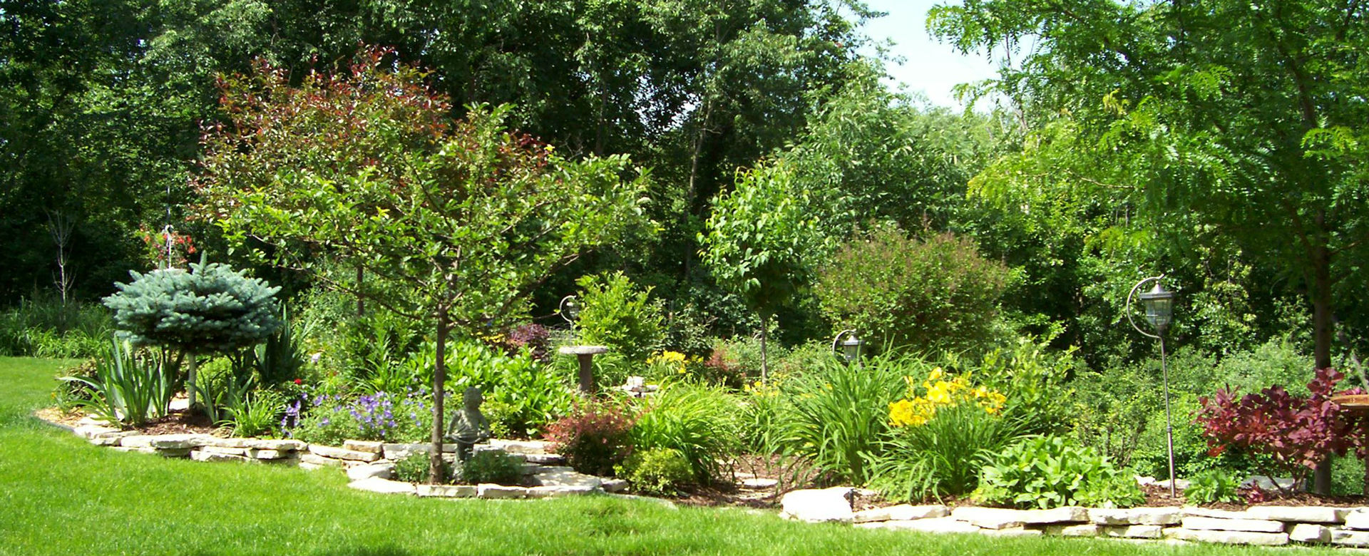 Forever Green Coralville Iowa Maintenance plantings