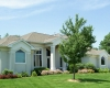 Forever Green Coralville Iowa Landscaping front of house plantings tree