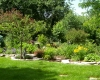 Forever Green Coralville Iowa Landscaping plantings natural limestone edging