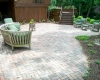 Forever Green Coralville Iowa Patios natural patio brick
