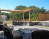 Forever Green Coralville Iowa Retaining Walls patio pergola seat wall