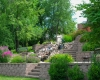 Forever Green Coralville Iowa Retaining Walls patio stairs waterfall