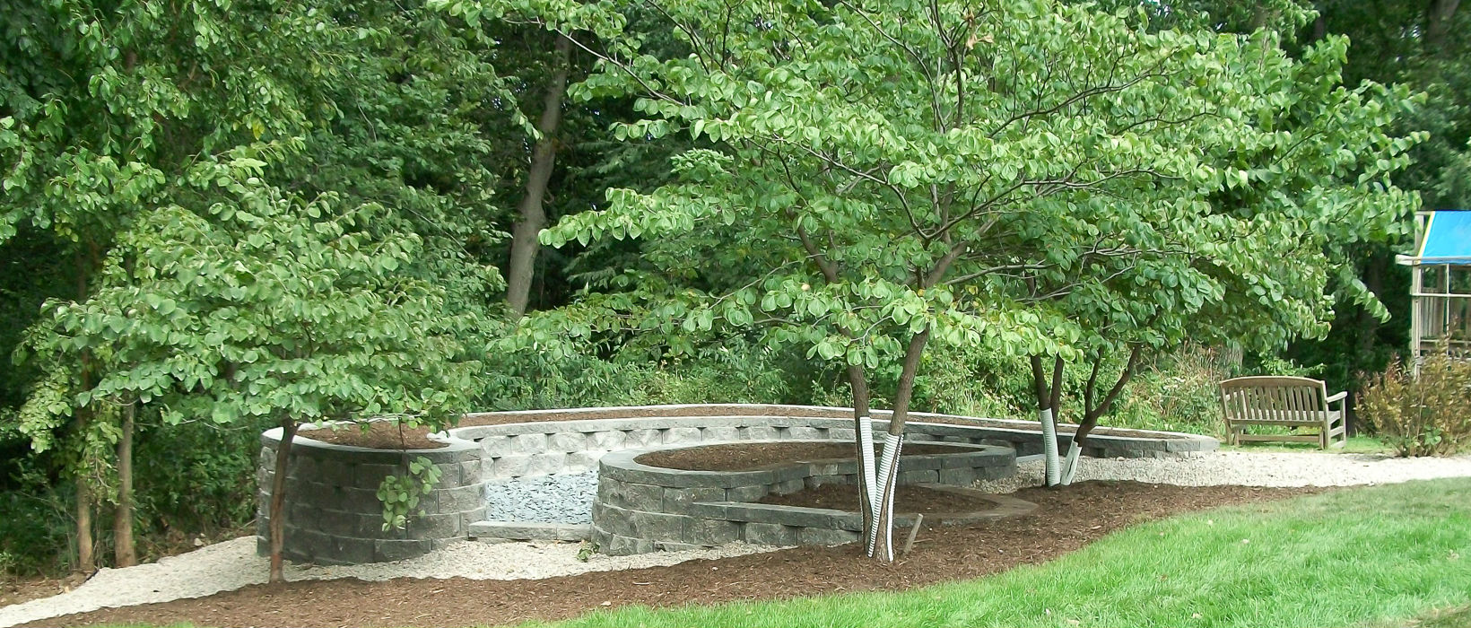 Retaining Walls - Landscaping Design | Forever Green ... on Green Wall Patio id=18814