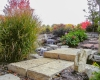 Forever Green Coralville Iowa Water Features bridge Iowa City landscaping