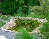 Forever Green Coralville Iowa Water Features natural pond stones