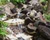 Forever Green Coralville Iowa Water Features pond waterfall natural