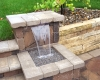 Forever Green Coralville Iowa Water Features waterfall