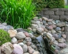 Forever Green Coralville Iowa Water Features waterfall stones