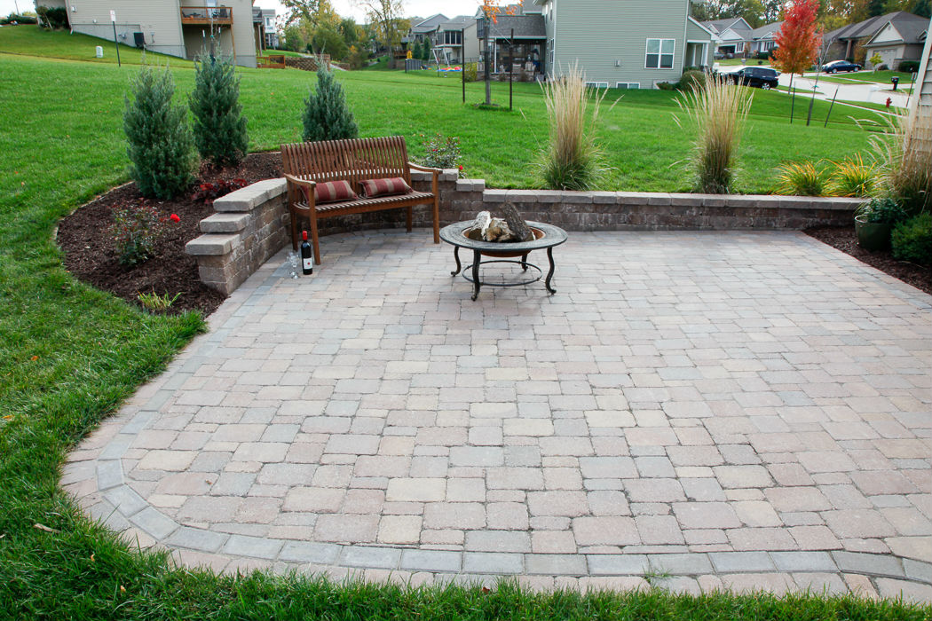 Forever Green Coralville Iowa Fire Pits Bench Plantings Patio