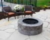 Forever Green Coralville Iowa Fire Pits brick walkway