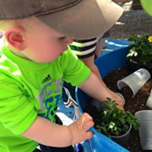 Forever Green Coralville Iowa spring open house free kids activities planting flowers