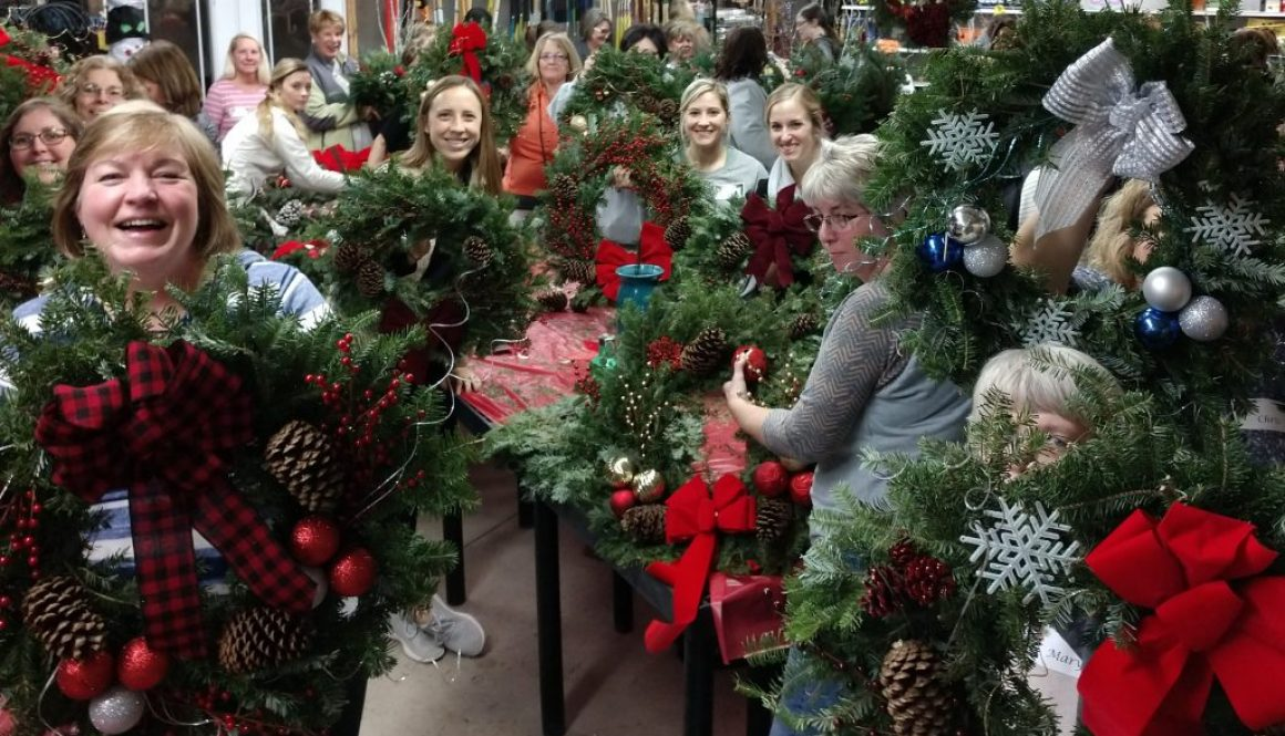 Ladies Night Wreaths 2017 (2)